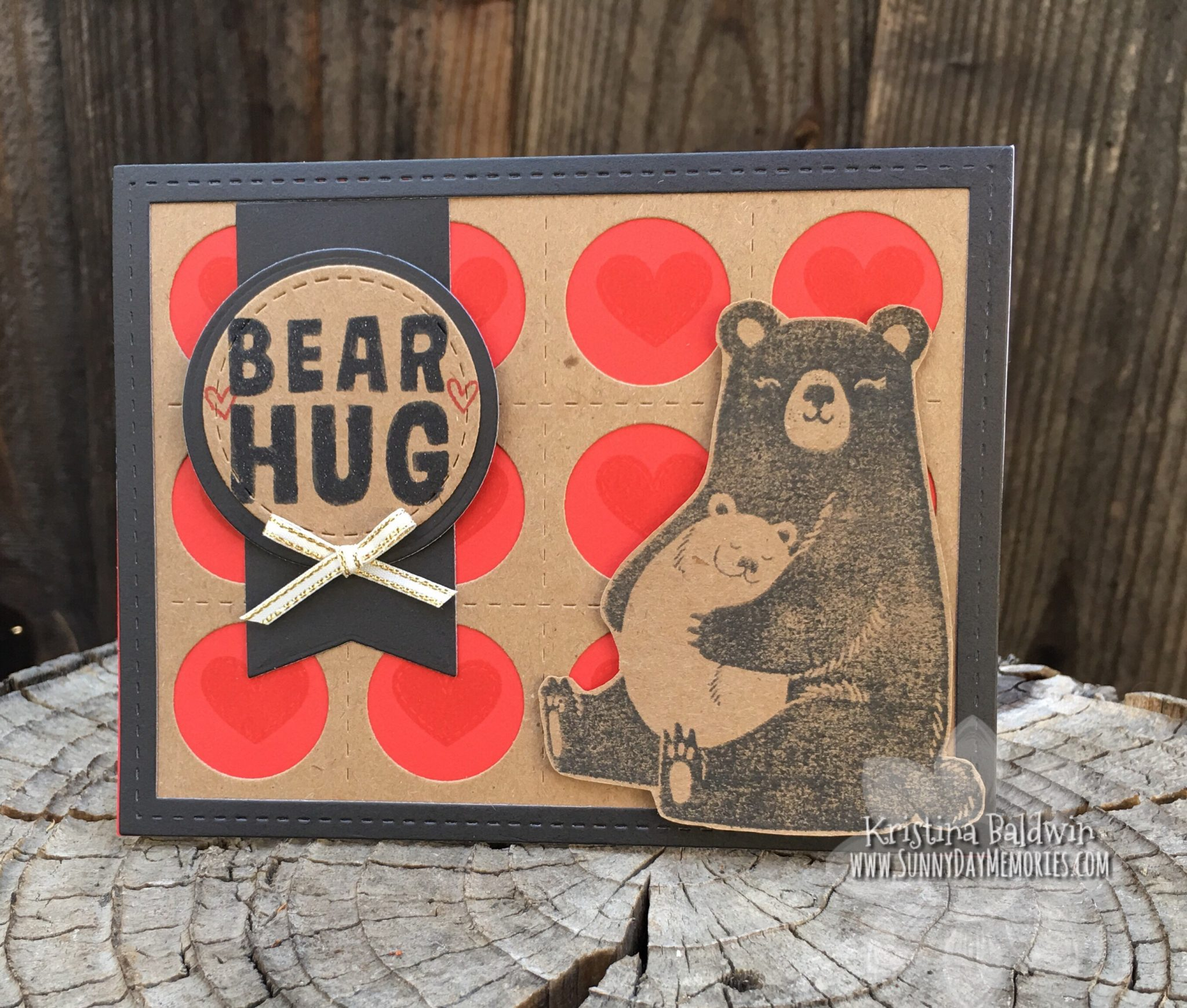 CTMH Bear Hug Card
