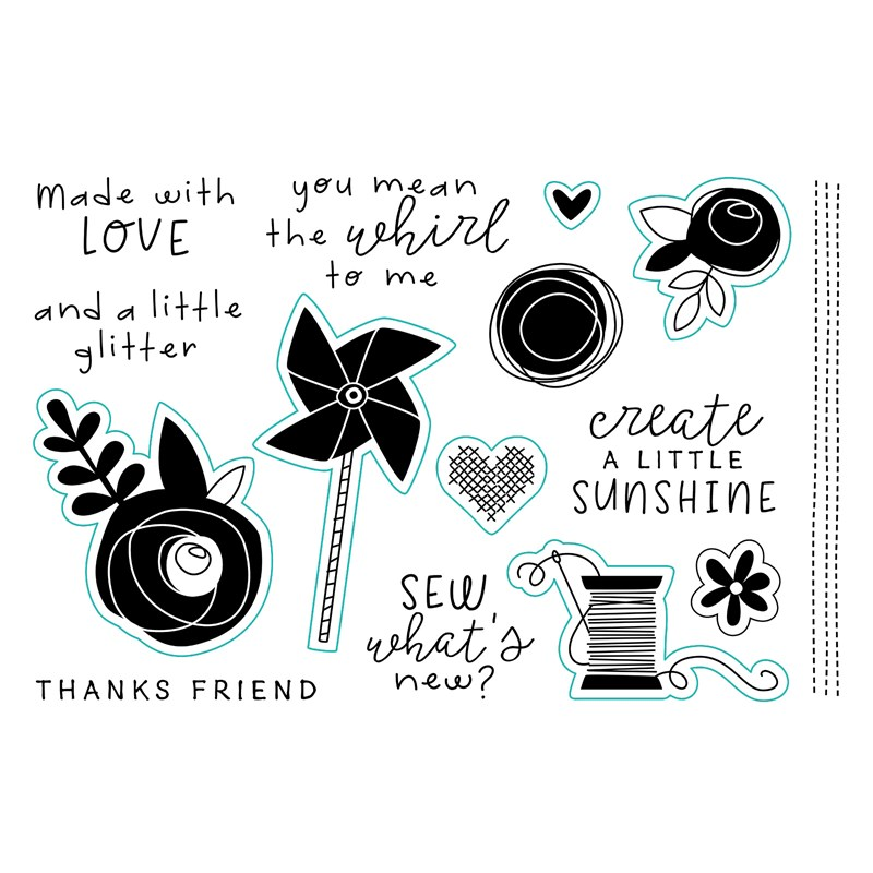 CTMH Craft On Cardmaking Stamp Set