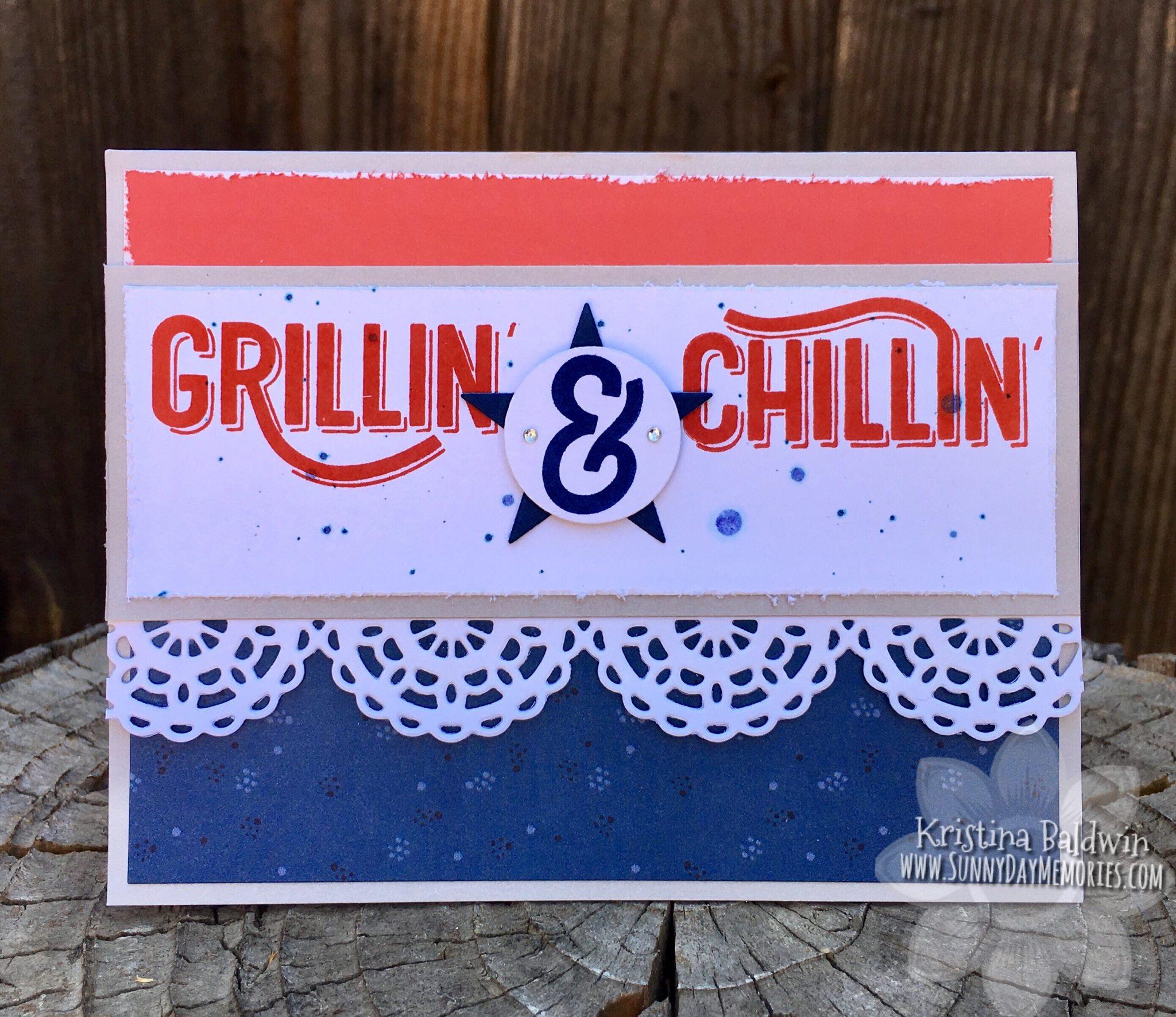 CTMH Grillin' & Chillin' Card