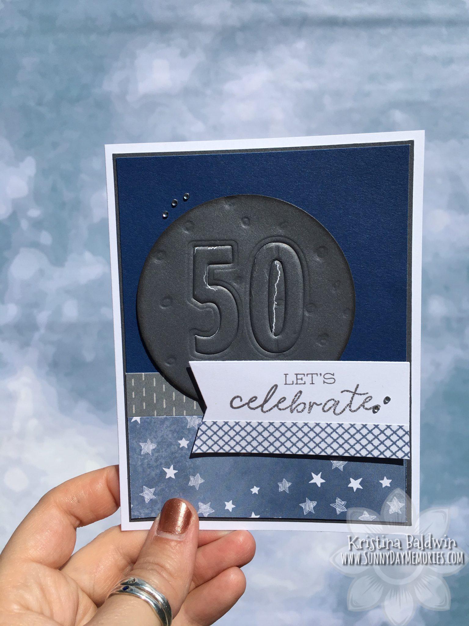 Moon Landing Anniversary Card