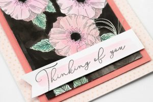 Close-up CTMH Thinking of You Card