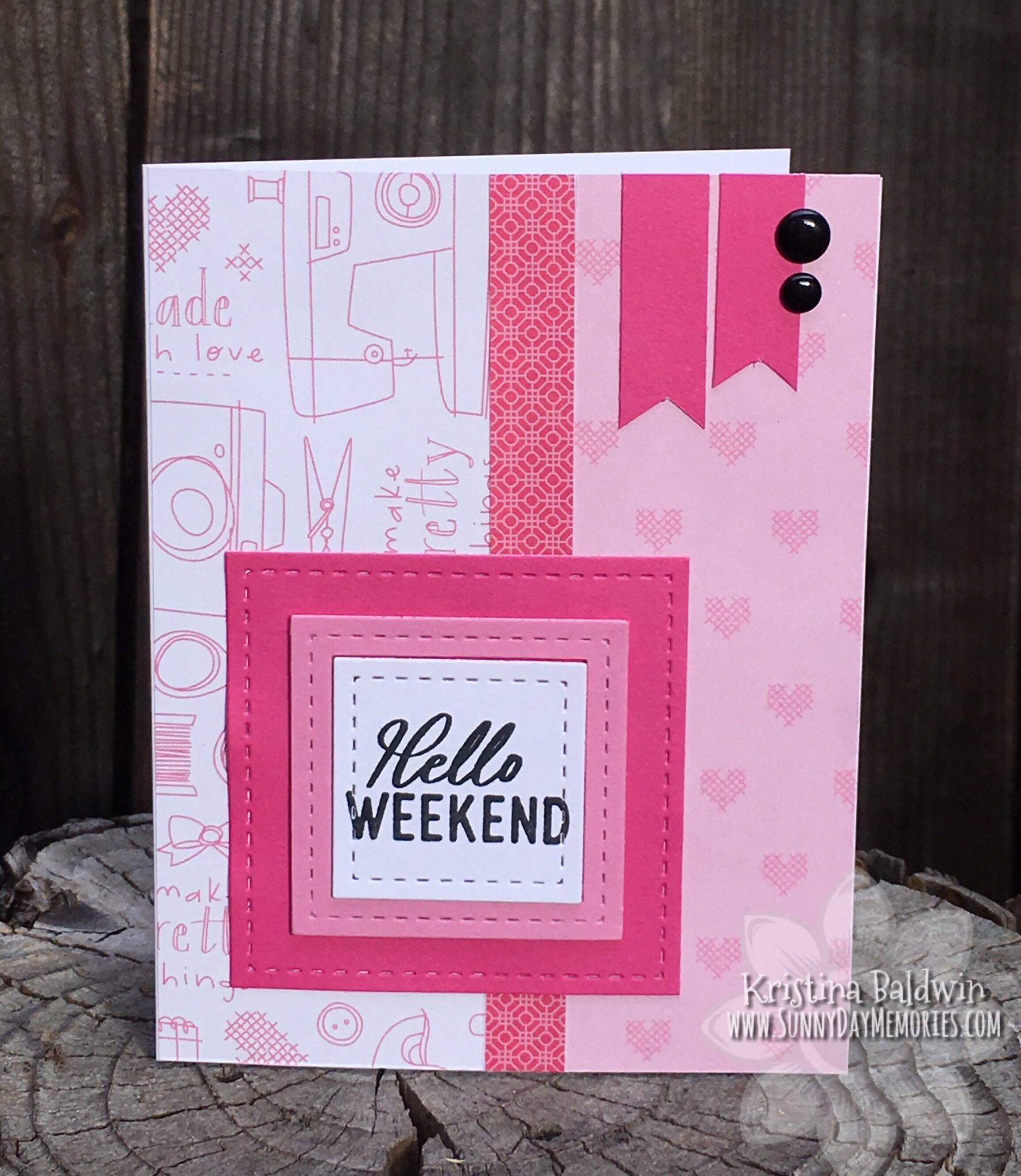 From Me to You Hello Weekend Card