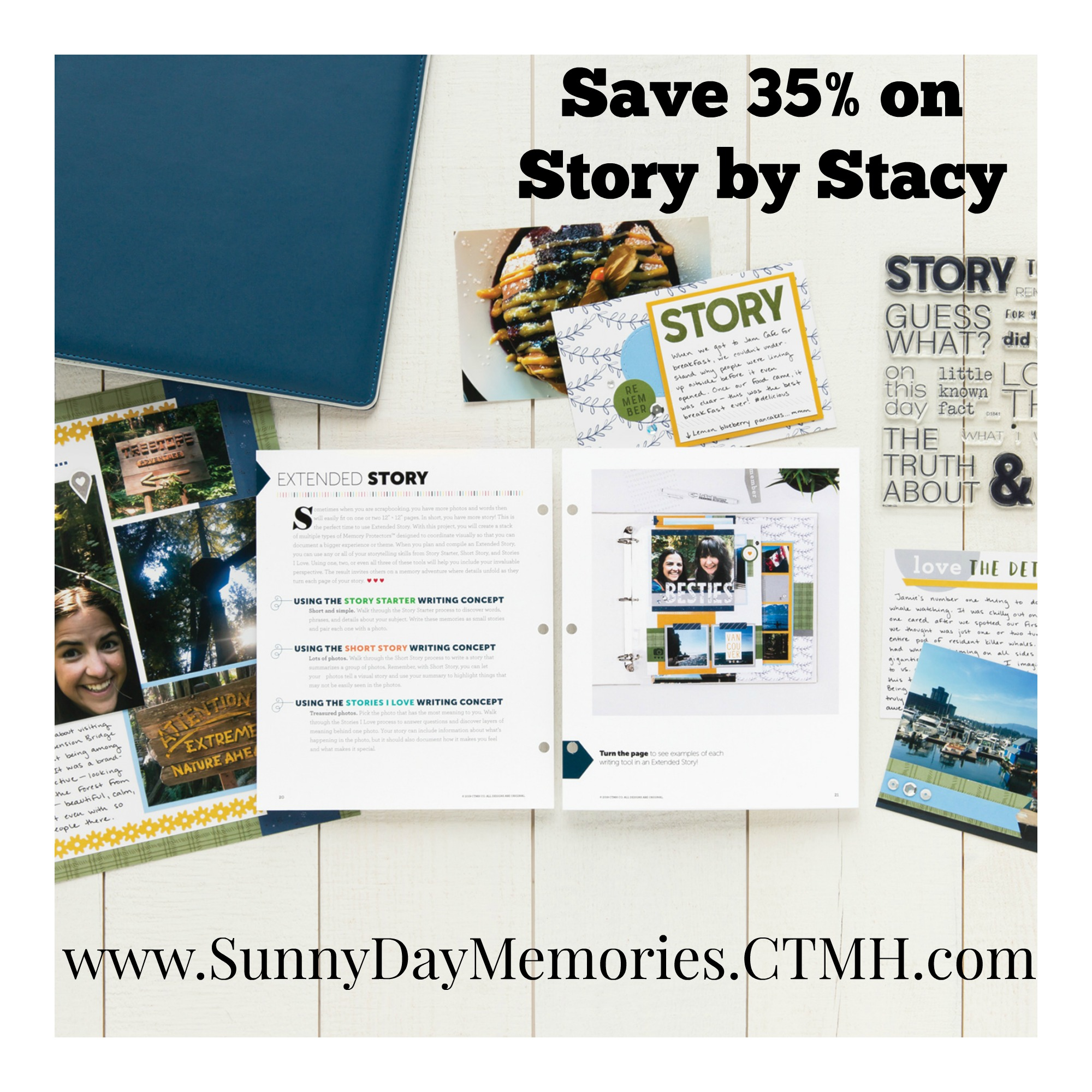 CTMH Story by Stacy Anniversary Special