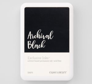 CTMH Archival Black Stamp Pad
