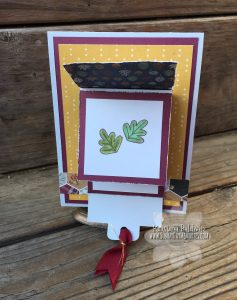 CTMH Giving Thanks Waterfall Card 2nd Panel