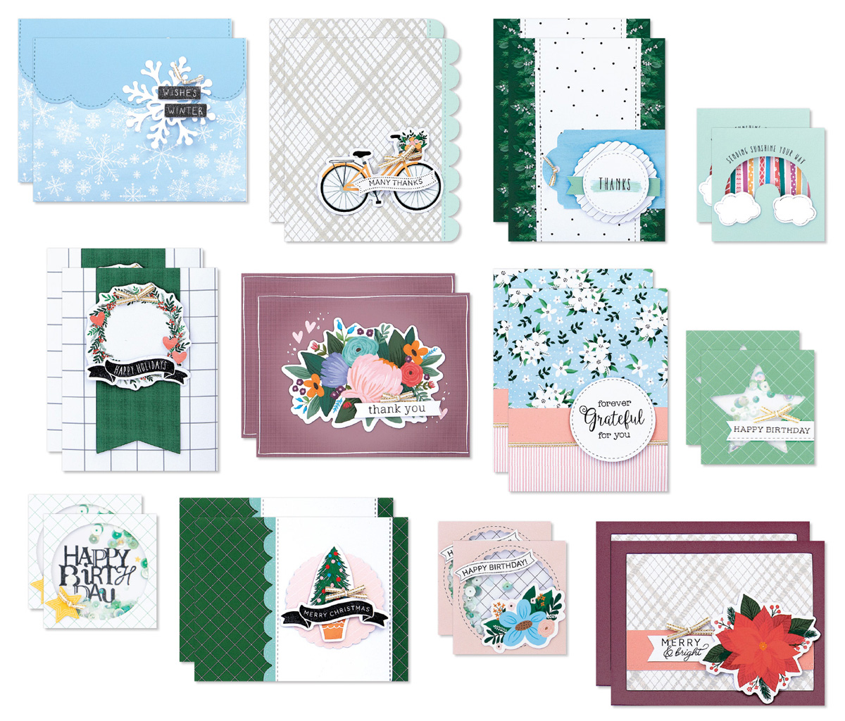 CTMH September-December Craft with Heart Cardmaking Subsciption Cards