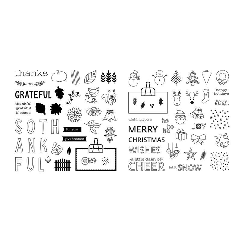CTMH Share the Seasons Stamp Sets
