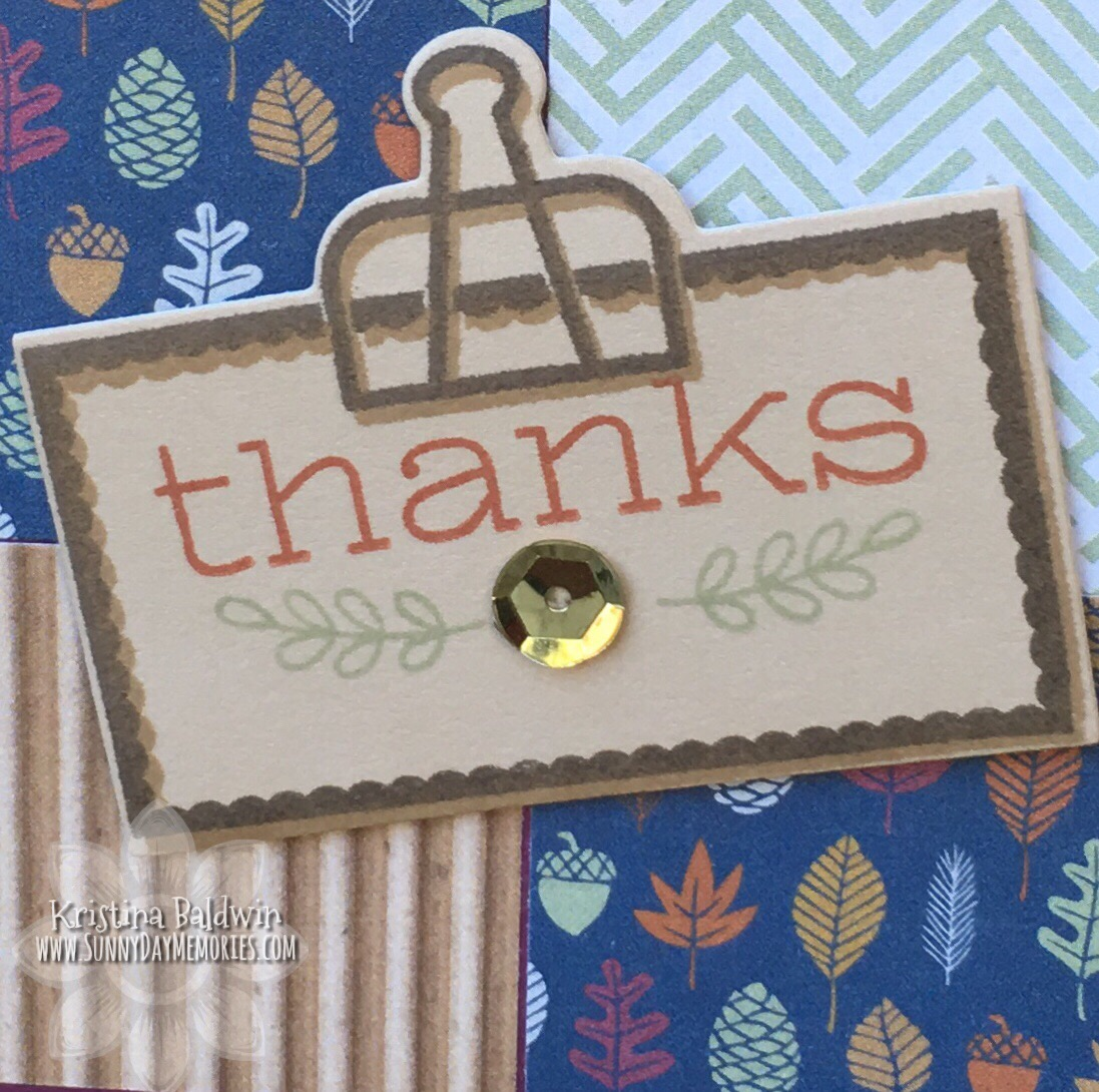 CTMH Giving Thanks Card Closeup