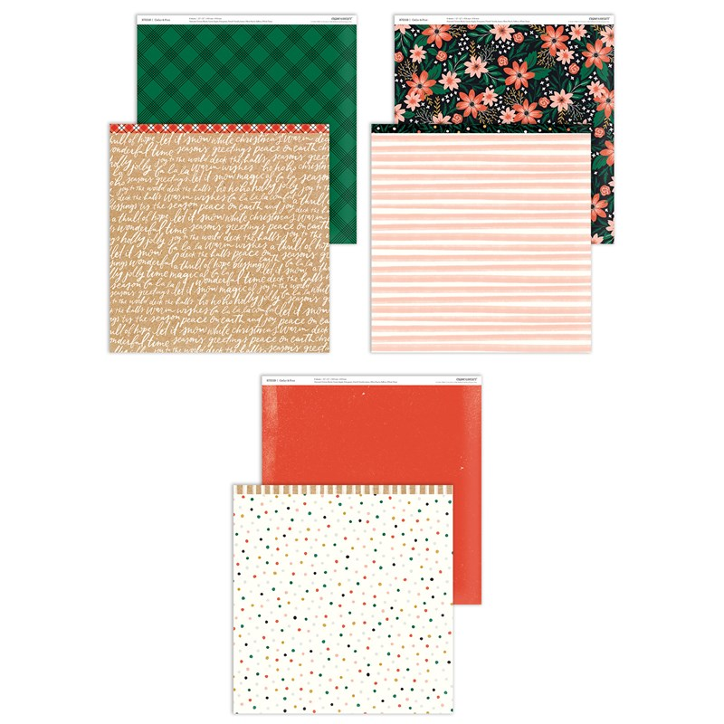 CTMH Cedar & Pine Paper Pack
