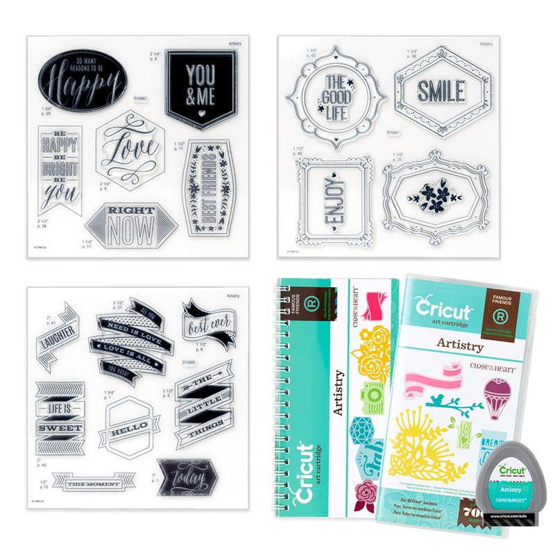 CTMH's Cricut Artistry Physical Collection