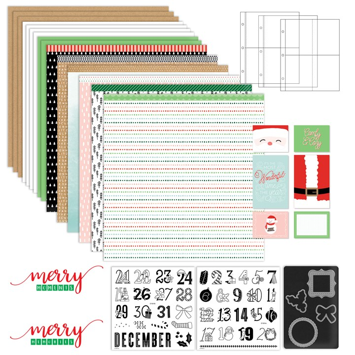 CTMH Days of December Kit with Stamps & Dies