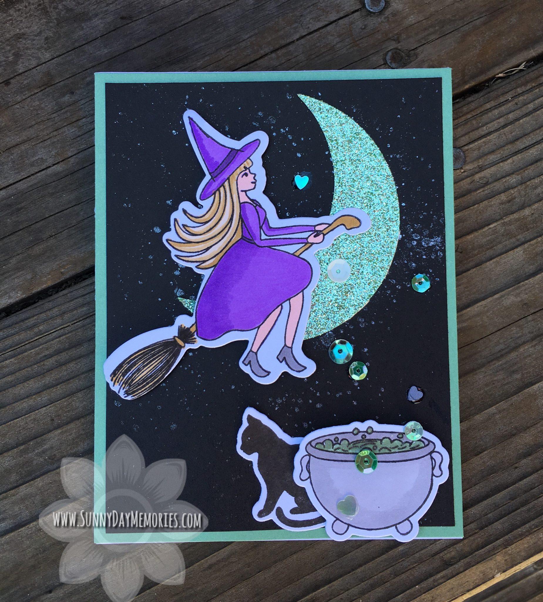 CTMH Fa-BOO-lous Halloween Card