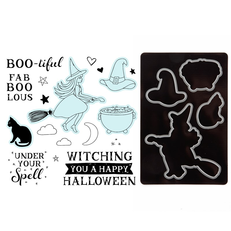 CTMH FaBOOlous Halloween Stamp Set + Dies
