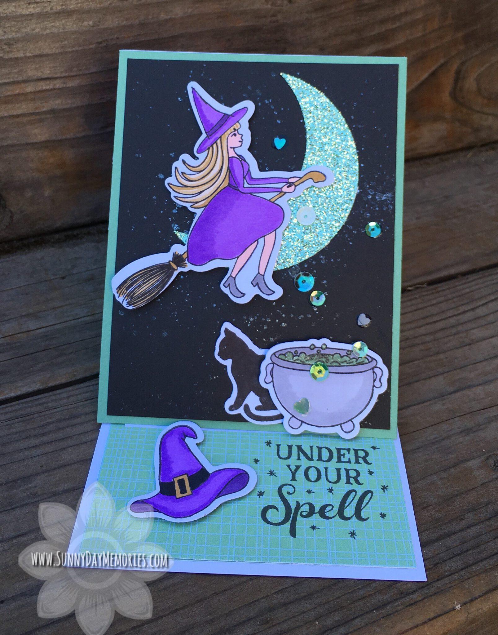 CTMH Fa-BOO-lous Halloween Easel Card