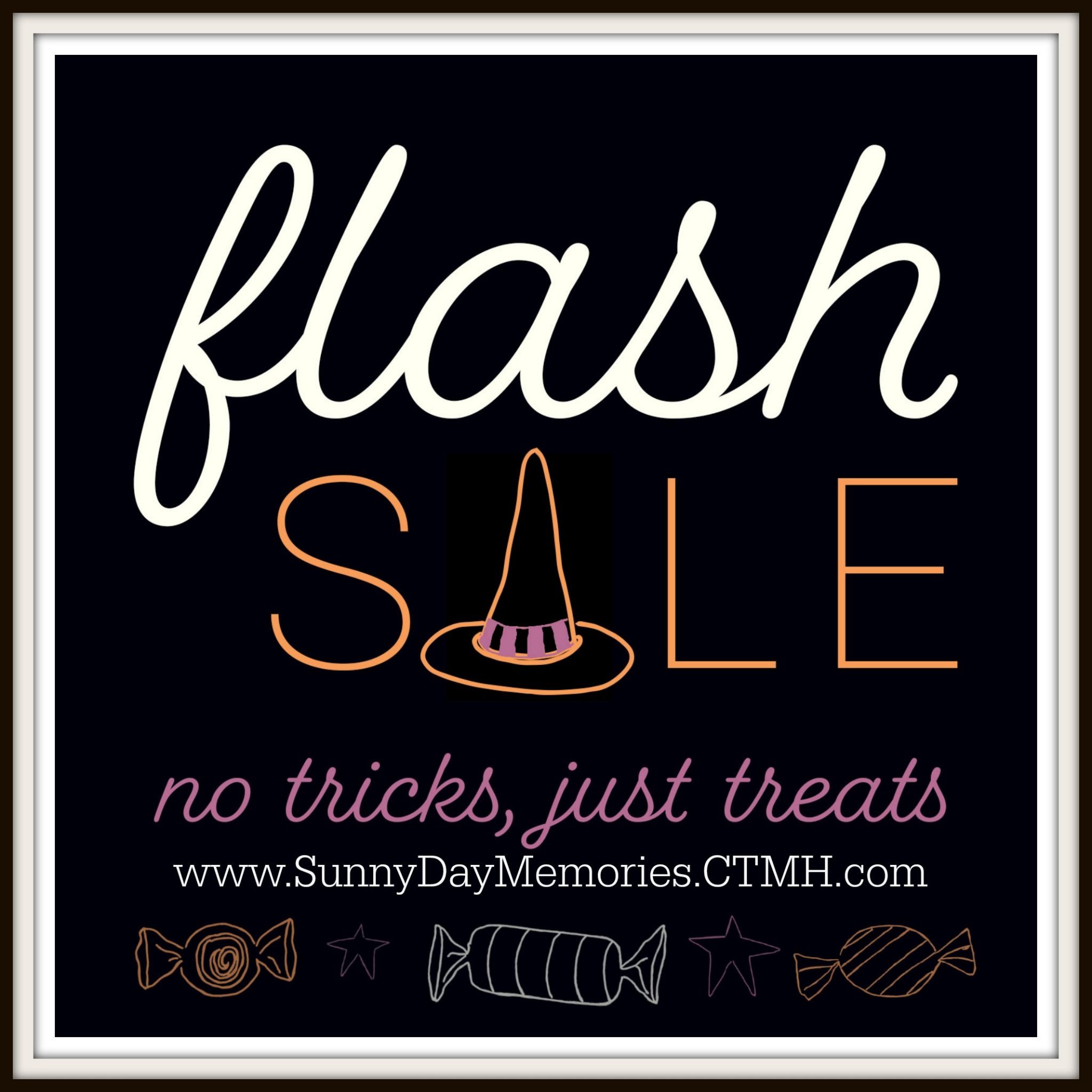 CTMH No Tricks, Just Treats Flash Sale