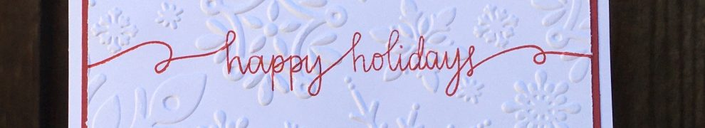 CTMH Happy Holidays Card