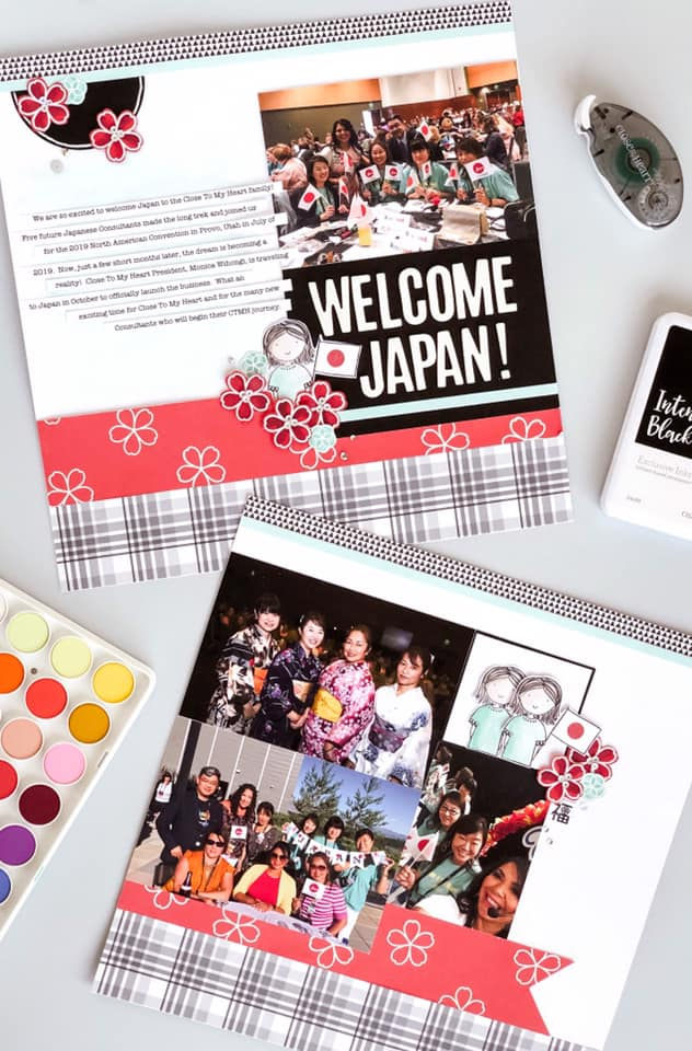 CTMH Welcome Japan Layout