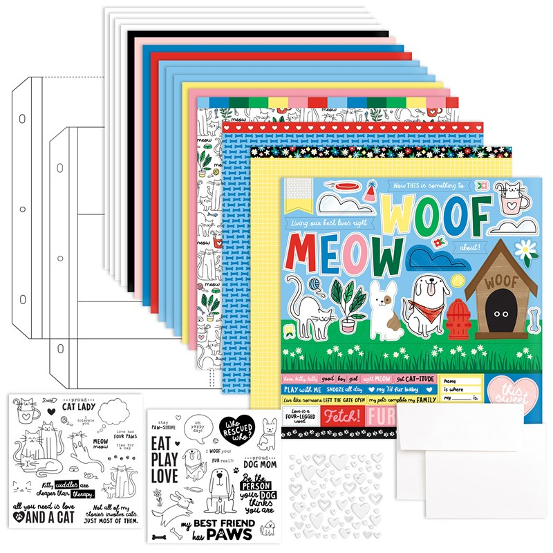 CTMH Best Friends Furever Kit with Stamps