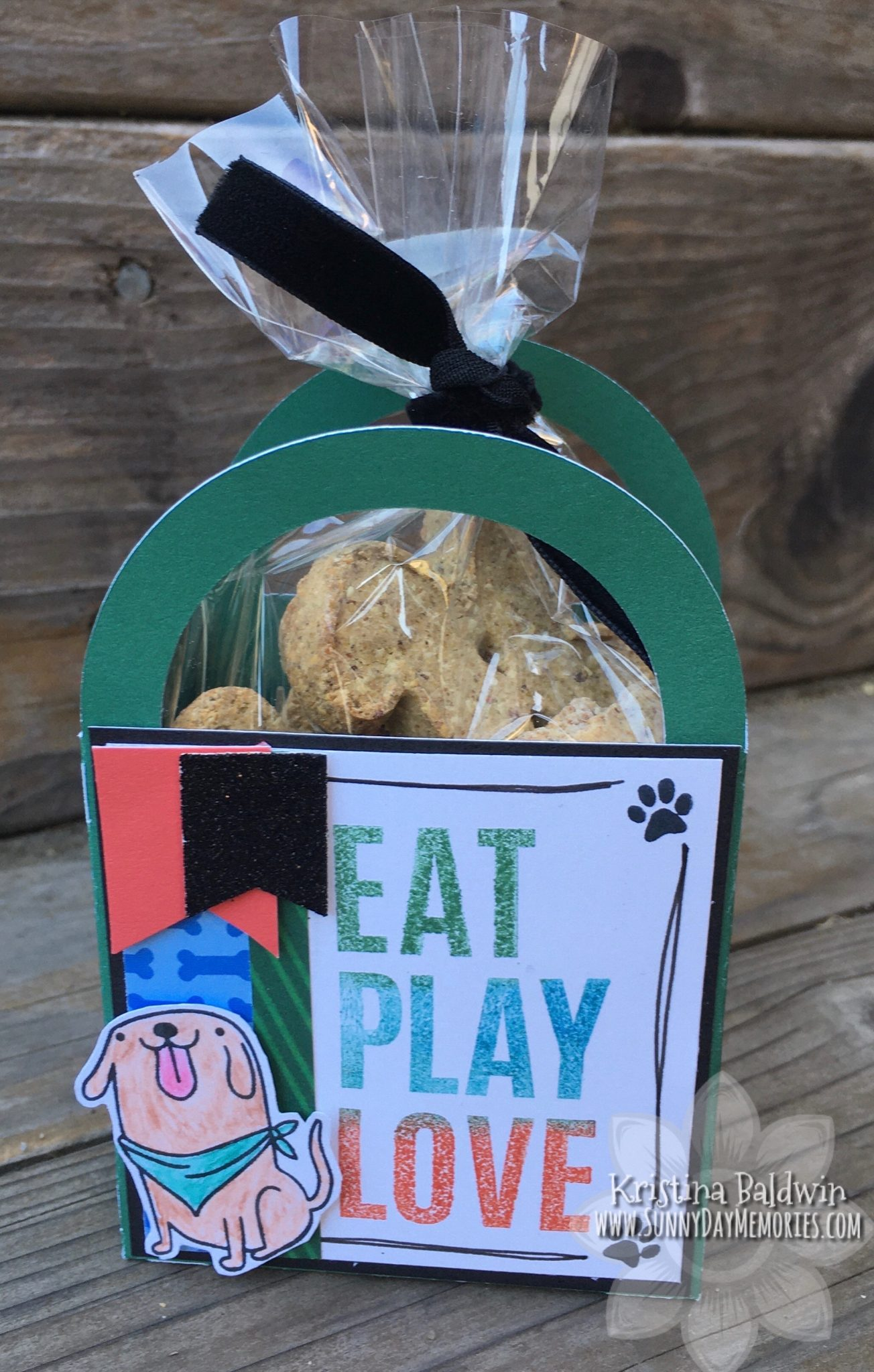 CTMH Eat Play Love Dog Treat Box