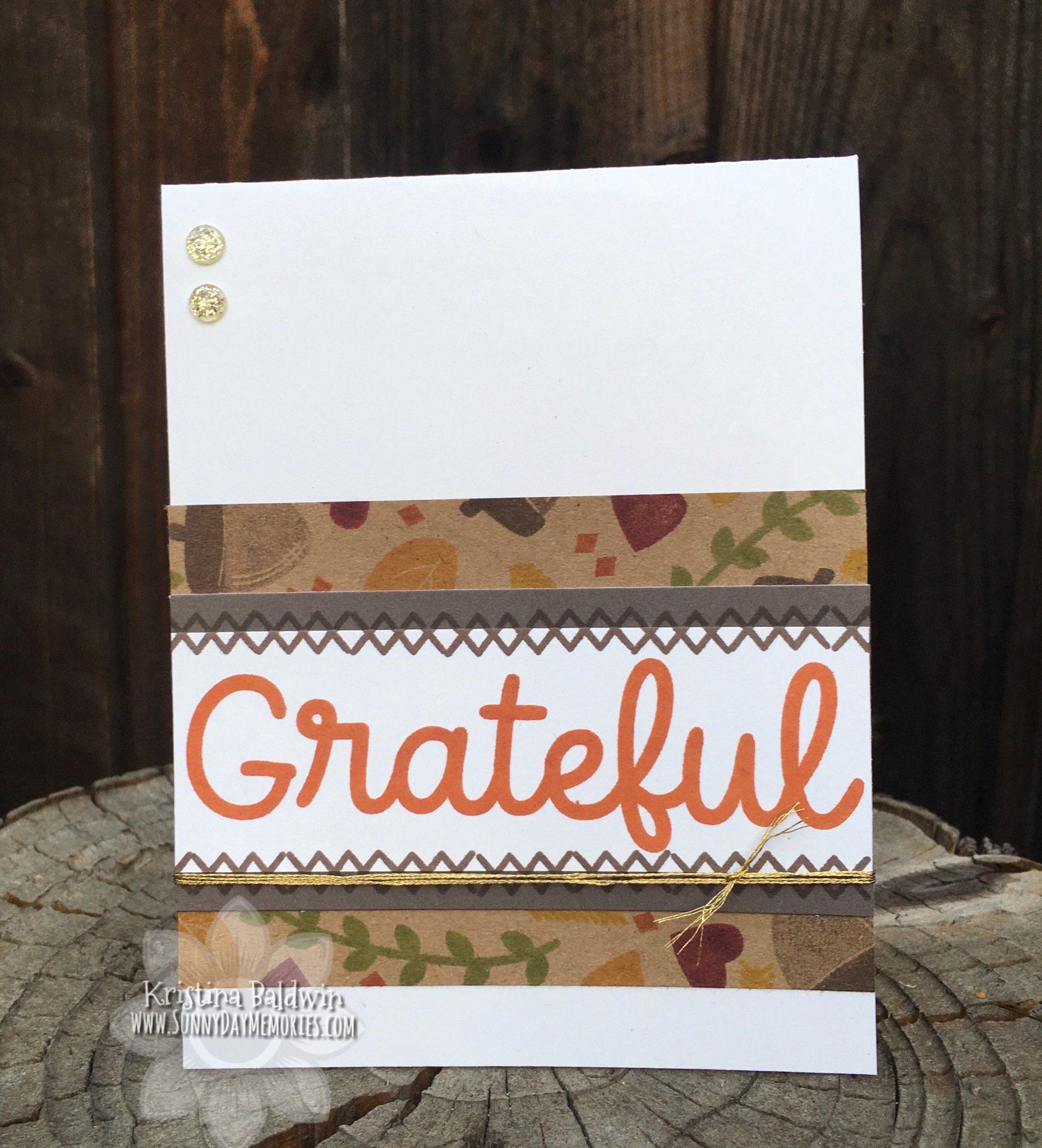 CTMH Grateful Card