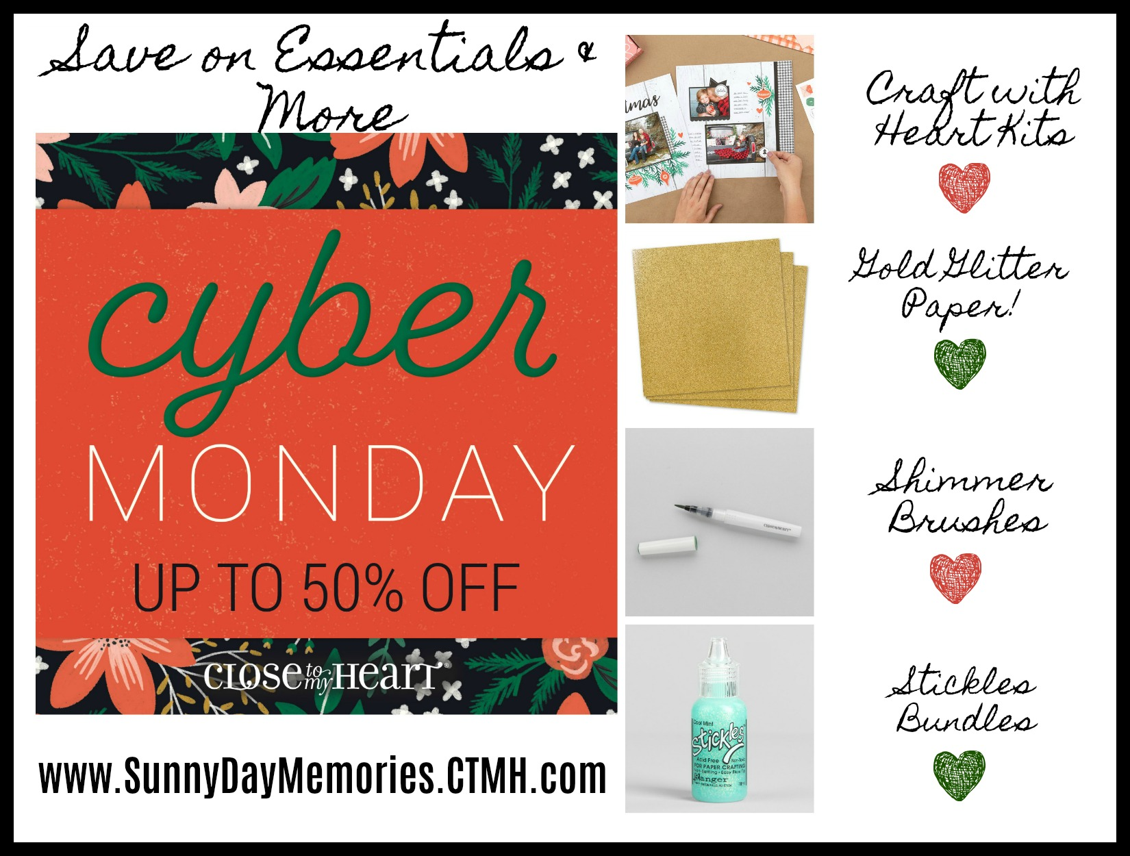 2019 CTMH Cyber Monday Flash Sale