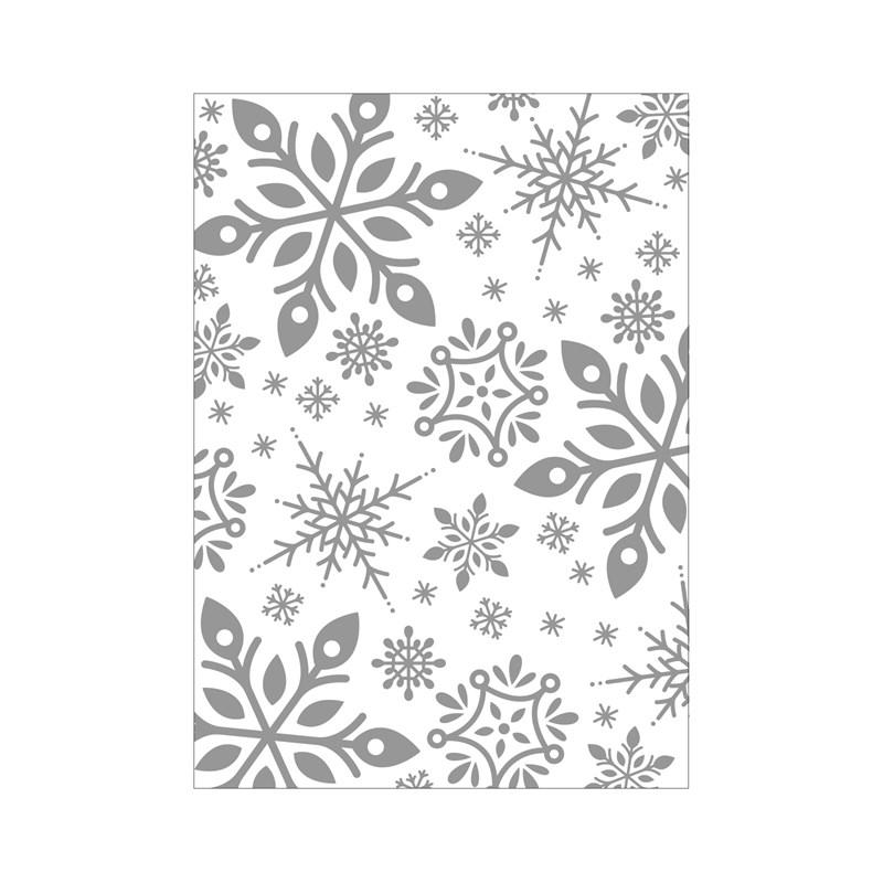CTMH Snowflake Embossing Folder