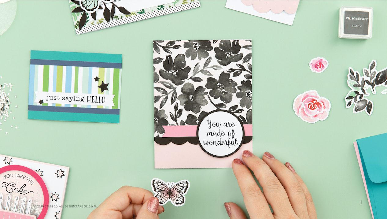 CTMH Craft with Heart Cardmaking Subscription Kit