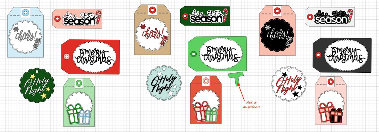 CTMH Design Space File for Gift Tags