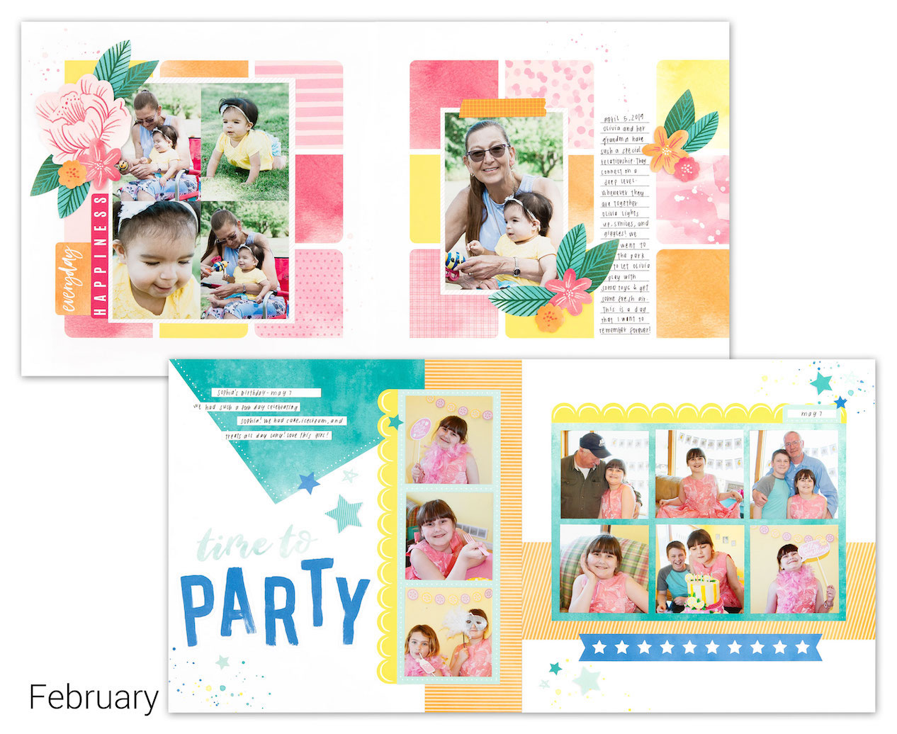 CTMH Craft with Heart February Scrapbooking Kit