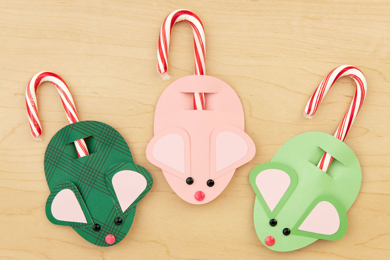 CTMH Candy Cane Mice