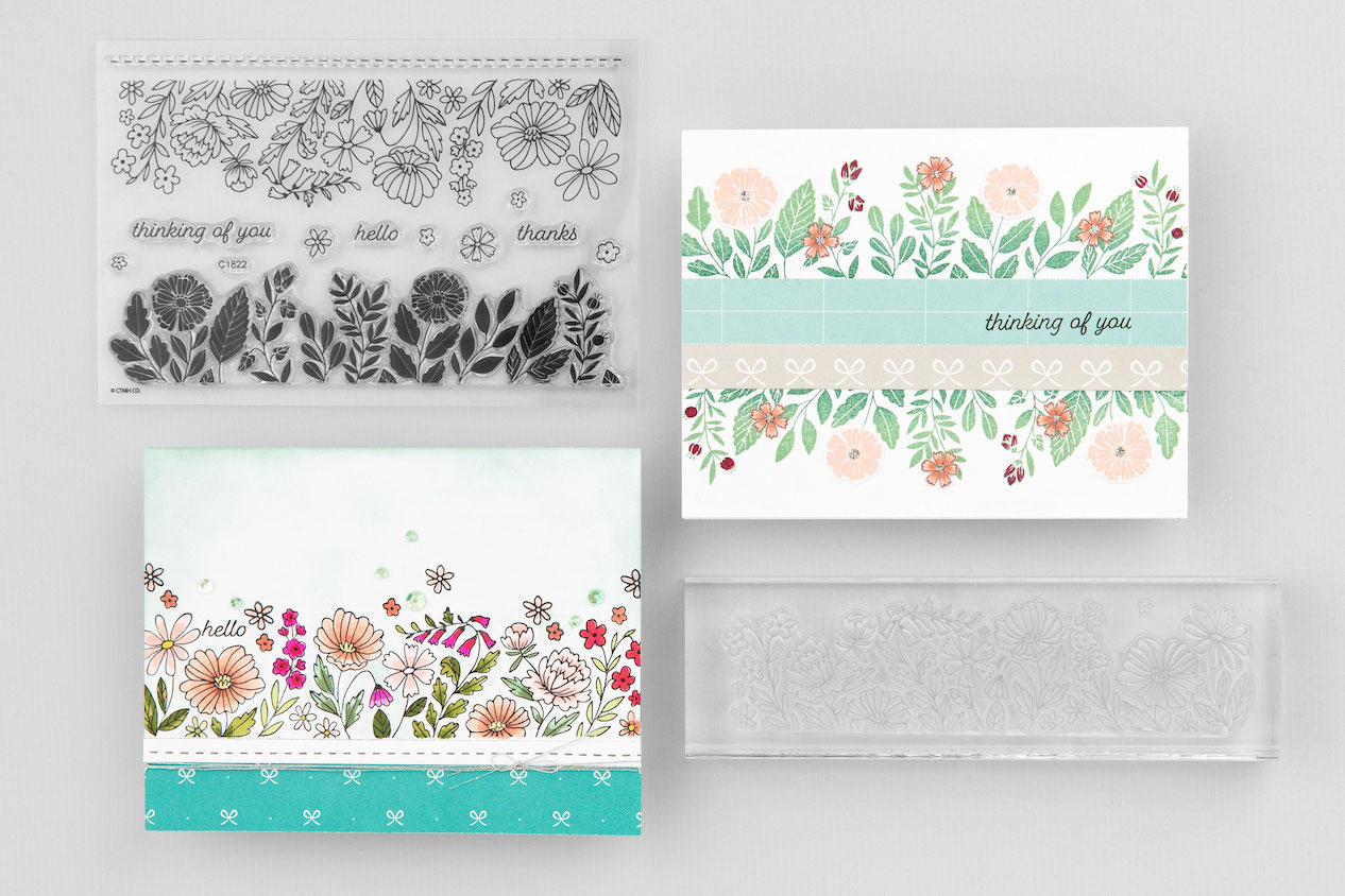 CTMH Floral Borders Cards
