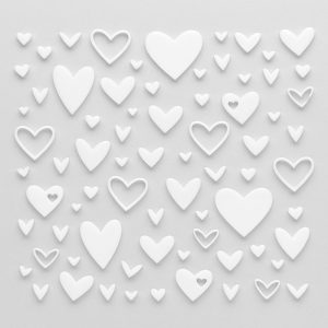 CTMH Acrylic Hearts