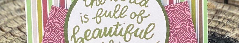 CTMH Beautiful Things Card