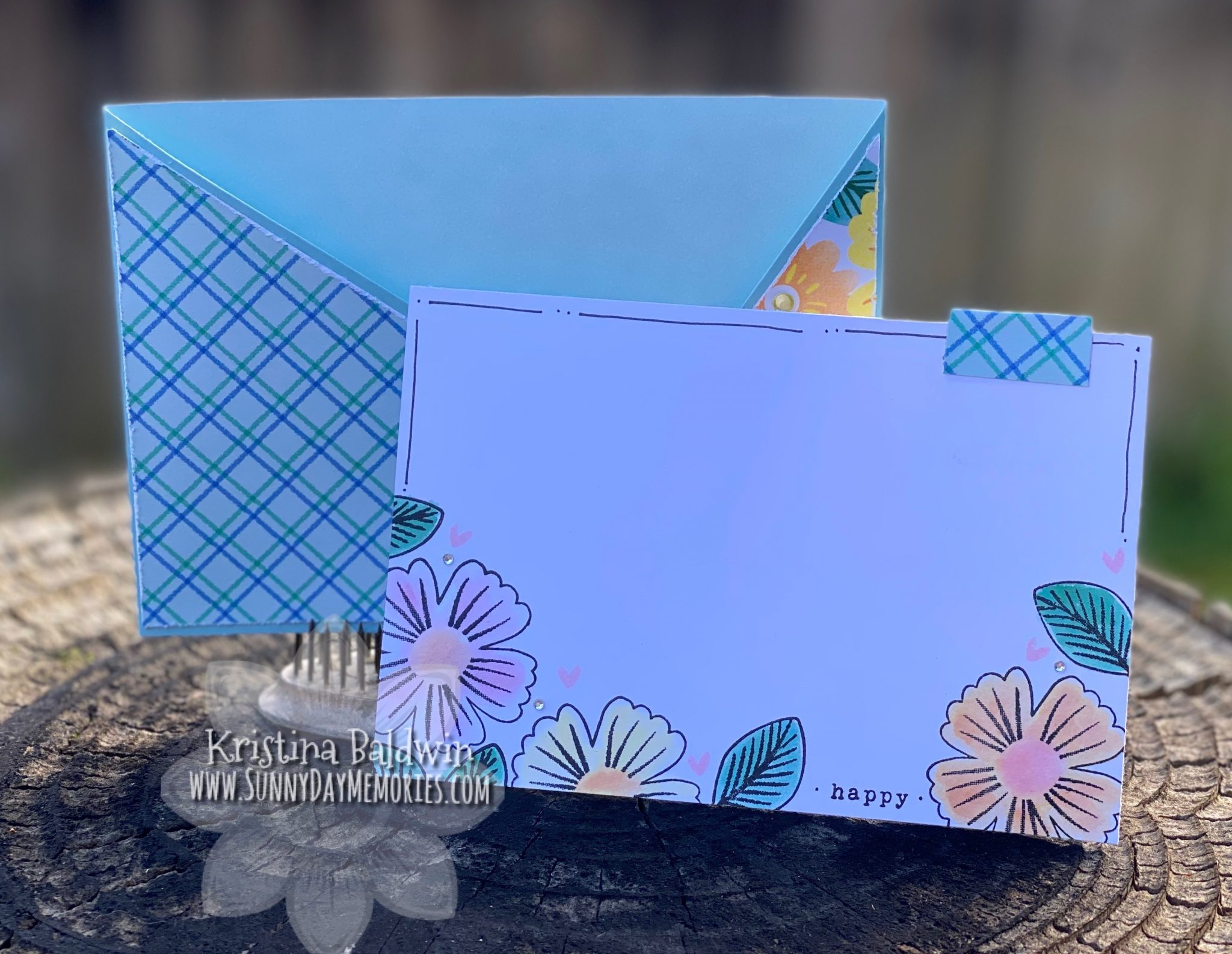 CTMH Happy Pocket Card