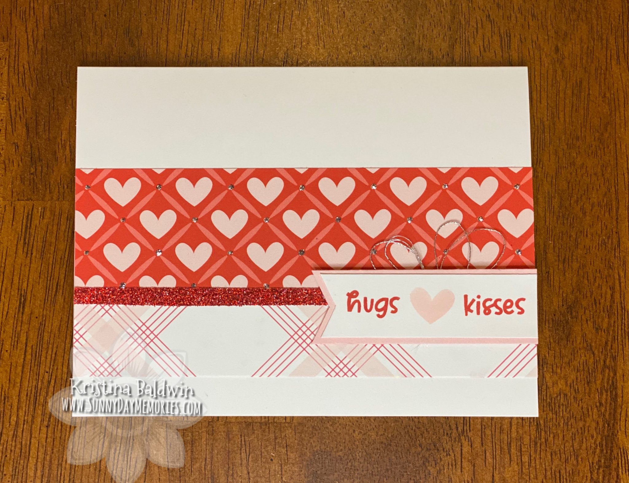 CTMH Hugs & Kisses Card