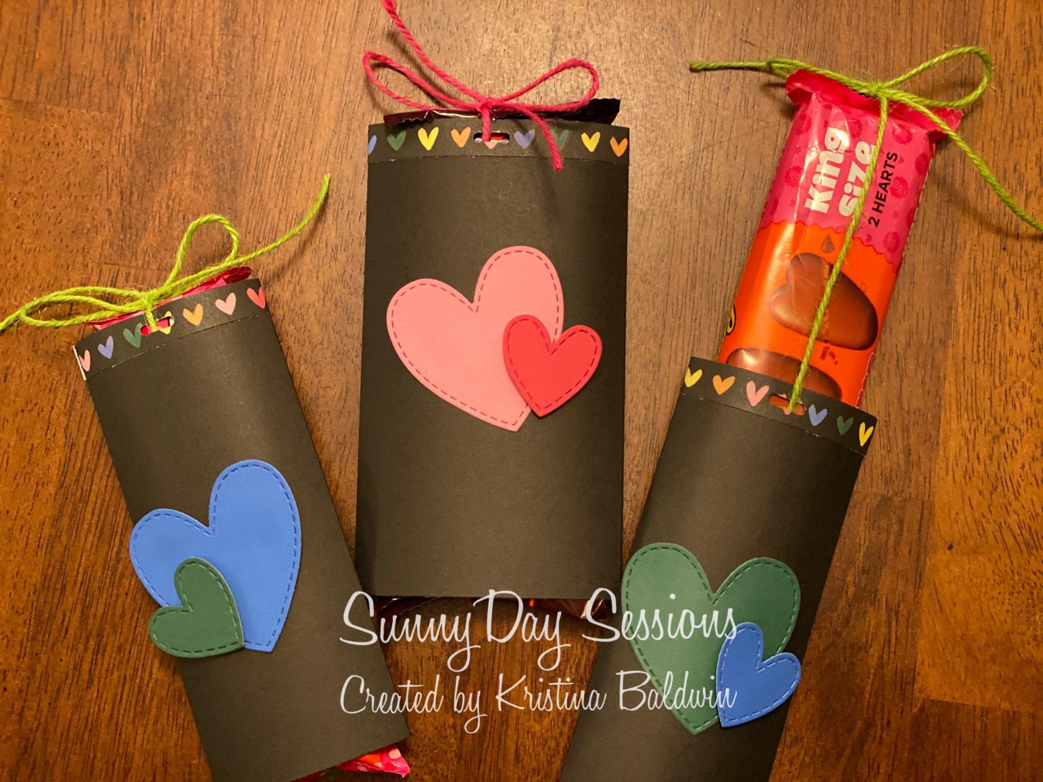 CTMH Valentine's Day Candy Bar Holder