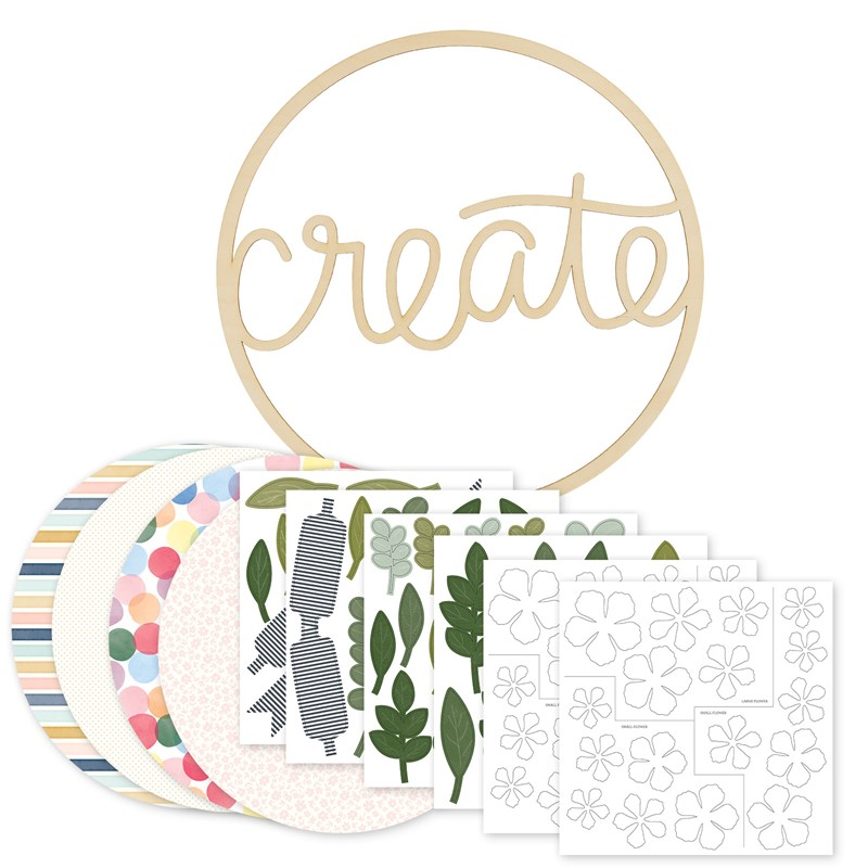 "CTMH ""Create"" Wreath Kit"