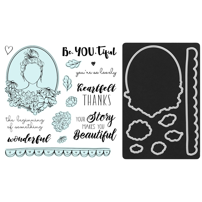 CTMH Love Your Story Stamp Set + Dies