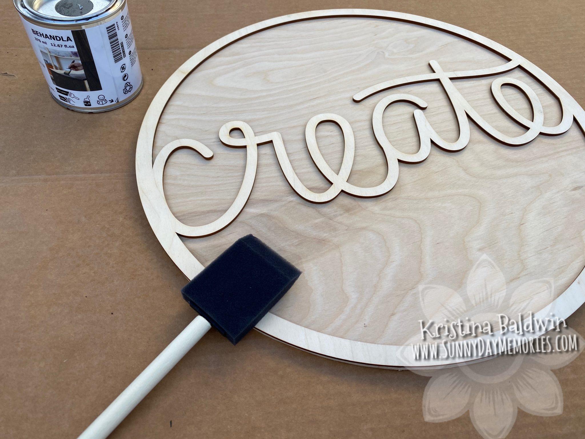 "CTMH ""Create"" Clock Paint Phase"