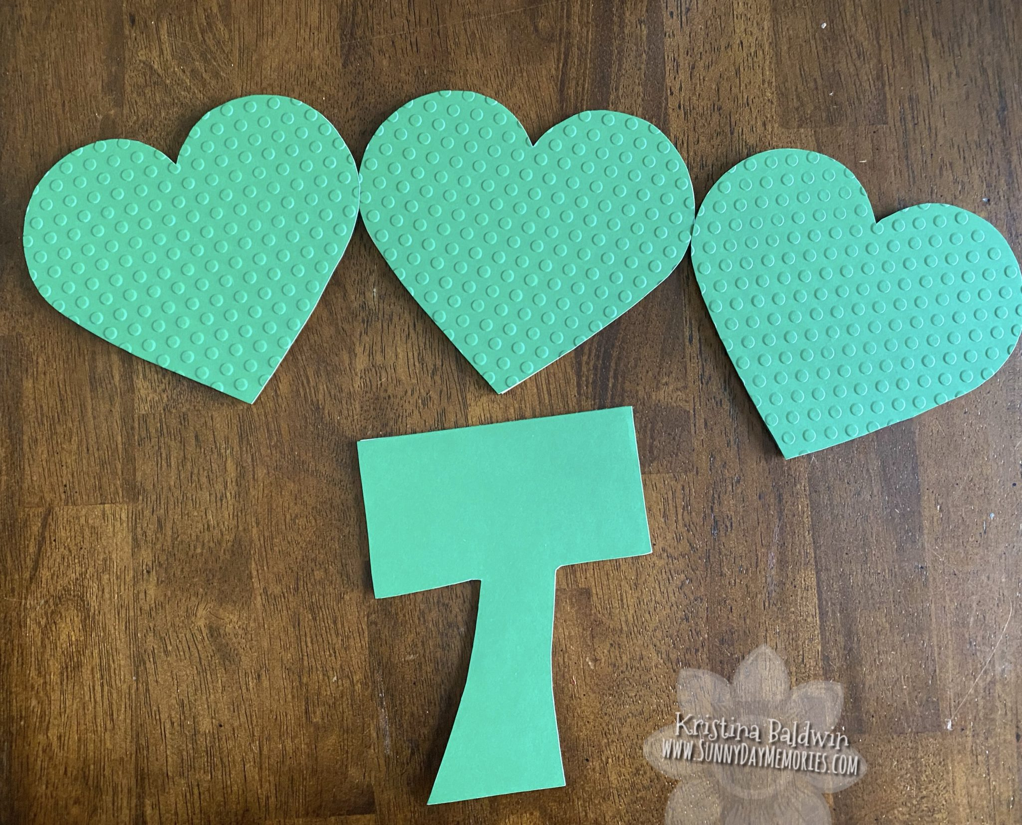 Shamrock Pieces Cut Out