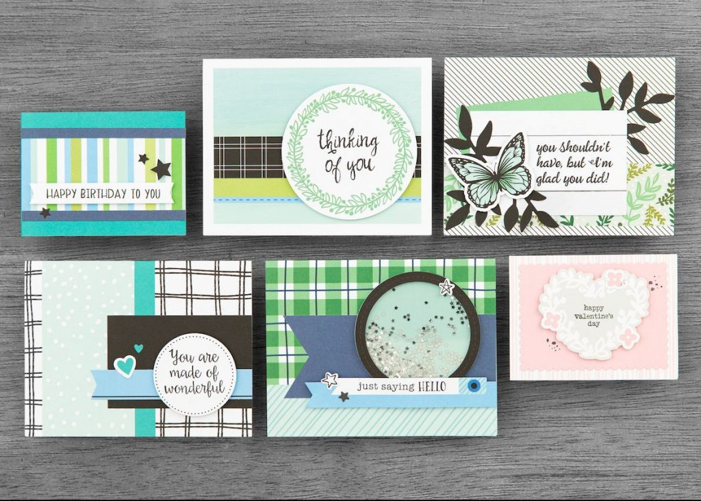 CTMH Craft with Heart Cardmaking Samples