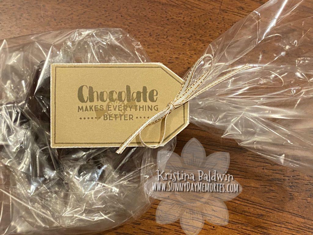 Bag of Homemade Chocolate Caramels