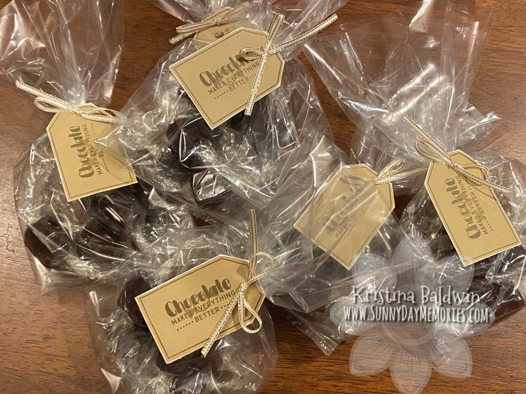 Bags of Homemade Chocolate Caramels