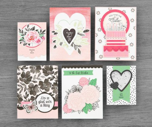CTMH Craft with Heart Cardmaking Samples 2