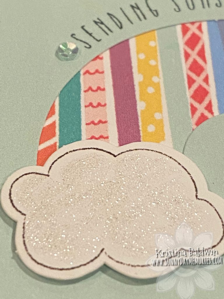 CTMH Craft with Heart Sunshine Card Closeup