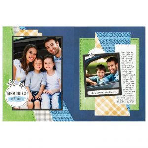 CTMH These Are My People Cut Above Layout 3