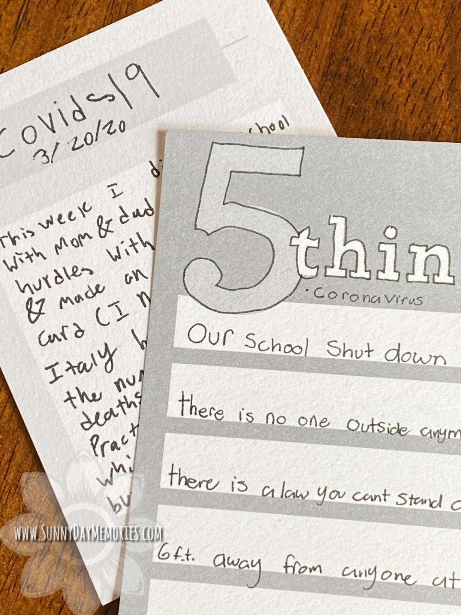 CTMH Storytelling Card Samples