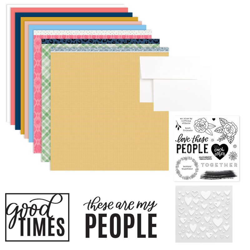 CTMH These Are My People Workshop Kit