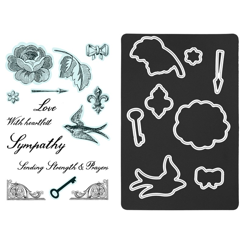 CTMH Yesterday & Today Cardmaking Stamps + Dies
