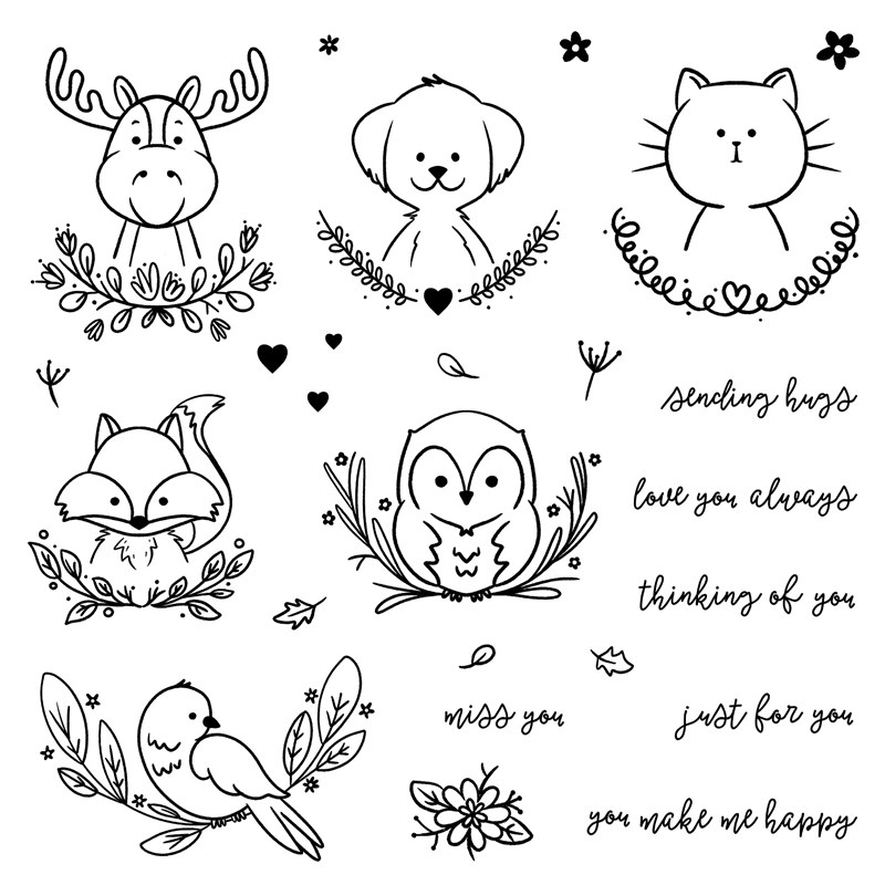 CTMH You Make Me Happy Operation Smile Stamp Set (D1920)